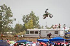 Race Report : Lake Elsinore MX 2012 | Features, News, Race Report | Transworld Motocross. HUGE Tabletop jump Lake Elsinore MX
