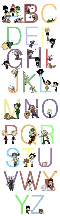 KHR Alphabet by Nire-chan on DeviantArt