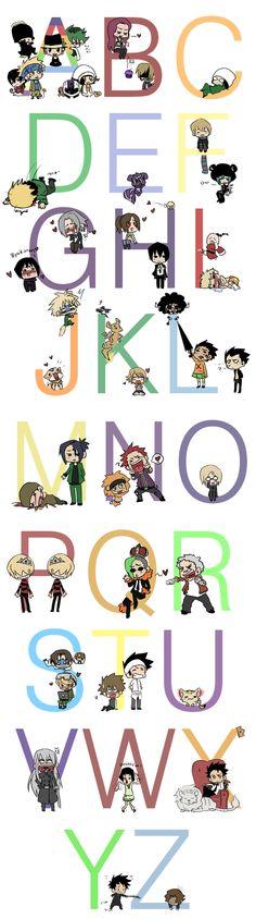 KHR Alphabet by Nire-chan on DeviantArt