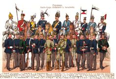 Guard Corps & Infantry (Prussia) The German Army 1900-1908