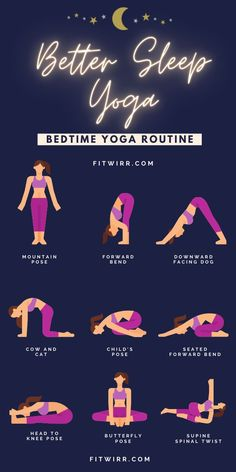 Fitness Workouts, Yoga Fitness, Fitness Goals, Night Time Yoga, Morning Yoga, Bedtime Yoga, Bedtime Routines, Exercise Routines, Relaxing Yoga