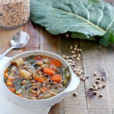 Black-Eyed Pea and Collard Greens Soup - Shape.com