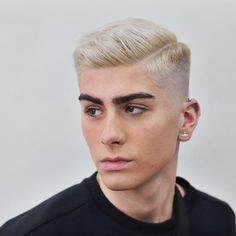 15 Cool Short Haircuts For Guys Short comb over fade with a shaved side part Side Part Haircut, Flat Top Haircut, Side Part Hairstyles, Cool Hairstyles, Formal Hairstyles, Side Part Mens Haircut, Wedding Hairstyles, Hairstyles Haircuts, Top Haircuts For Men