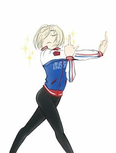 Yuri On Ice Funny, Yuri On Ice Victuri, Fanarts Anime, Manga Anime, Male Manga, Manga Boy, Image Emotion, Yuri!!! On Ice, Yuri On Ice Comic