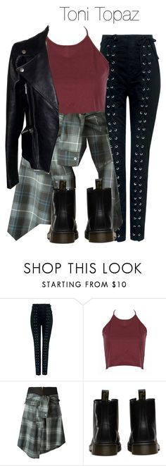 """""""Toni Topaz - Riverdale"""" by shadyannon ❤ liked on Polyvore featuring A.L.C., David Szeto and Alexander McQueen"""