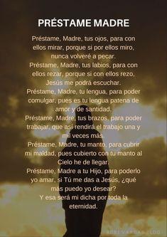 Spiritual Prayers, Prayers For Healing, Spiritual Quotes, God Prayer, Daily Prayer, I Love You God, Gods Love, Santa Muerte Prayer, Catholic Prayers In Spanish