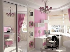 Beautiful-Hanging-Lamp-with-Cute-Wall-Art-and-Work-Table-in-Girls-Bedroom-Design-Ideas.jpg (1024×768)