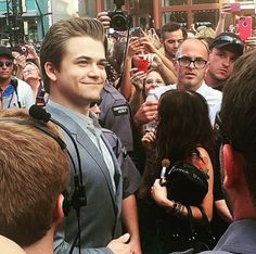 Hunter at the CMT Music Awards 2015 :) - He looks really proud of himself... oh my.....