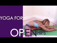 Yoga for Open Hips, Full Practice with Kino - YouTube
