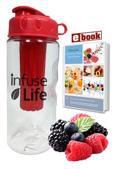 Fruit-Infuser Water Bottle - Drink more water the fun way! Click the link to get yours! http://www.amazon.com/dp/B00UZLROXA #water #hydrate #healthyeating #fitness