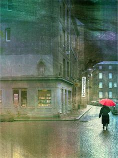 Exposition, Rainy Streets in France