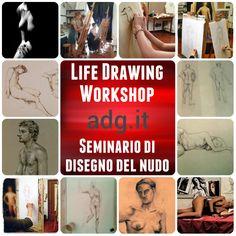 Life Drawing Workshop/Seminario di disegno del nudo – Summer/Estate 2014