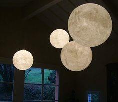moon lamps.