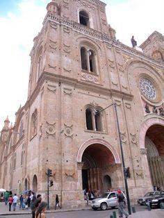 Iglesia de Cuenca Ecuador