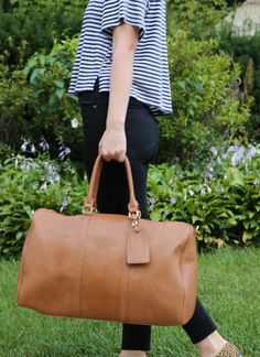 Loving Sole Society's Lacie travel bag for weekend getaways!
