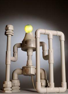 (pic) Robolamp, Robot Kreasi Unik Lampu
