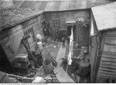 Historicist: Forgotten Urban Squalor of The Ward Then And Now Pictures, Toronto Photos, Canadian History, West Village, Slums, Ontario, Past, Canada, Urban