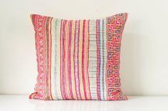 RARE VINTAGE HMONG Textile Batik & Embroidered Ethnic by Tshaj, $75.00