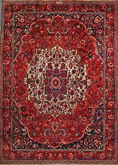 Bakhtiari Persian Rug,