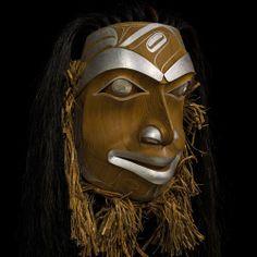 Through Starry Eyes by Robert Davidson, Haida artist Native American Masks, Native American Artists, Tribal Face, Haida Gwaii, Haida Art, Aboriginal Artists, Tlingit, Inuit Art, Indian Crafts
