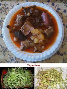 Potaje De Tagarninas. Recetas, Gastronomía, Food, Gastronomy, Recipes...