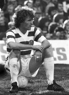Davie Provan of Celtic. (Apps Goals Debut against Partick Thistle in September Retro Football, World Football, Football Fans, Celtic Pride, Celtic Fc, Old Firm, Soccer Boys, Sport Man, Glasgow