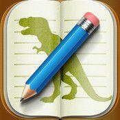 Stenosaur Personal Microjournal App FREE - Oct. 29 #lachat #eduapps