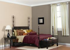 This is the project I created on Behr.com. I used these colors: GRAND SOIREE(T14-13),WINDSOR HAZE(560F-6),ETHIOPIA(PPU5-6),SWAN WING(W-F-400),