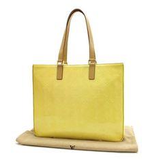 Louis Vuitton Colombus Monogram Vernis Shoulder bags Yellow Patent Leather M91047