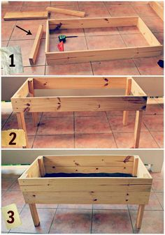 Raised Garden Table Plans | Download Raised Garden Bed Plans On Legs PDF rockler coffee table ...