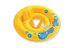 Intex My Baby Float Swimming Swim Ring Pool Infant Chair Lounge with Backrest - Ideas of Pool Float Water Table Toy, Water Tables, Swim Safe, Baby Float, Inflatable Float, Baby Swimming, Pool Floats, Water Toys, Infant