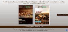 Publiez gratuitement dans le prochain numéro d'AFRIKArchi Magazine