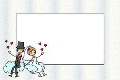 Casamento Noivinhos Palito – Kit Completo com molduras para convites, rótulos para guloseimas, lembrancinhas e imagens! |Fazendo a Nossa Festa