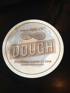 Thanks for the message! RT @carlobuffone:  The real deal @DoughPizzeria pic.twitter.com/K3pnhego3b