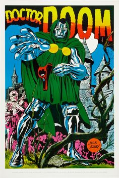 Doctor Doom by Jack Kirby