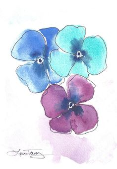 Pretty Pansy Vase, Tall - contemporary - vases - Anthropologie