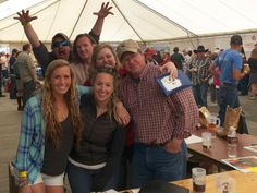 Old West Brewfest is hosted by the Jackson Hole Chamber of Commerce.   Thank you, volunteers!