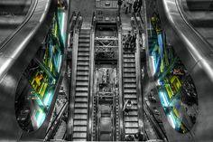 Lloyds of London escalator