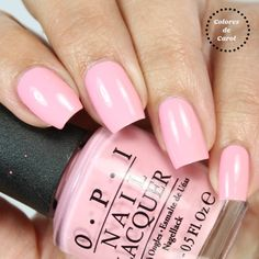 In support of Breast Cancer Awareness: OPI Pink Friday