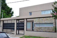 House Fence Design, Fence Gate Design, Steel Gate Design, Front Gate Design, Compound Wall Design, Boundary Walls, Fence Styles, Storey Homes, Entrance Gates