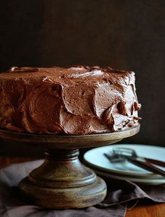 The Perfect Marble Cake!
