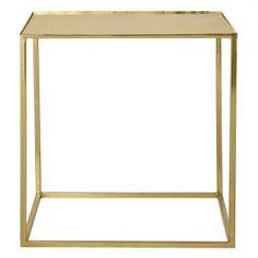 Beistelltisch Cube, Goldoptik, 45 x 45cm - Bloomingville | SCHÖNER WOHNEN | SCHÖNER WOHNEN