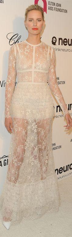 Oscar Award Winning Fashion 2014 - Karolina Korkova in Elie Saab