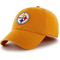 Get this Pittsburgh Steelers Gold Cleanup Adjustable Cap at  ThePittsburghFan.com e854ab446