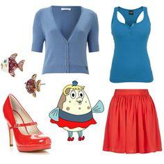 dress like spongebob squarepants mrs puff Spongebob Halloween Costume, Halloween Costumes, Spongebob Costumes, Halloween Outfits, Halloween Crafts, Halloween Ideas, Disney Bound Outfits, Disney Inspired Outfits, Cute Teen Outfits