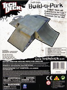 Amazon.com: Tech Deck Build-a-Park Quarter Pipe: Toys & Games Ramp Design, Tech Deck, Skateboard, Finger, Boards, Xmas, Park, Amazon, Children