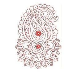 hand embroidery patterns | ... EMBROIDERY > REDWORK/OUTLINE EMBROIDERY > Red Work Embroidery Designs