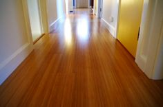 Pros and Cons of Bamboo Floors - Hallway - Plaster & Disaster