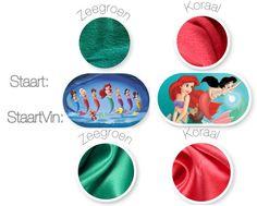 Mermaid tail blanket Disney Ariel Melody door HannaElisaBoutique