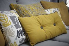 mustard cushions - Google Search